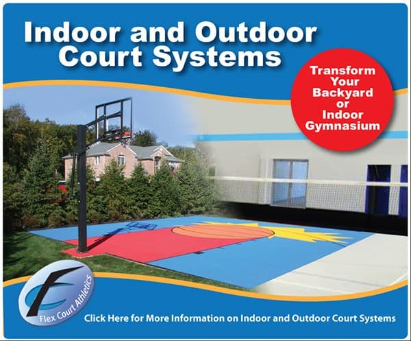 Court installation and design near cincinnati and dayton for Basketball court cost estimate