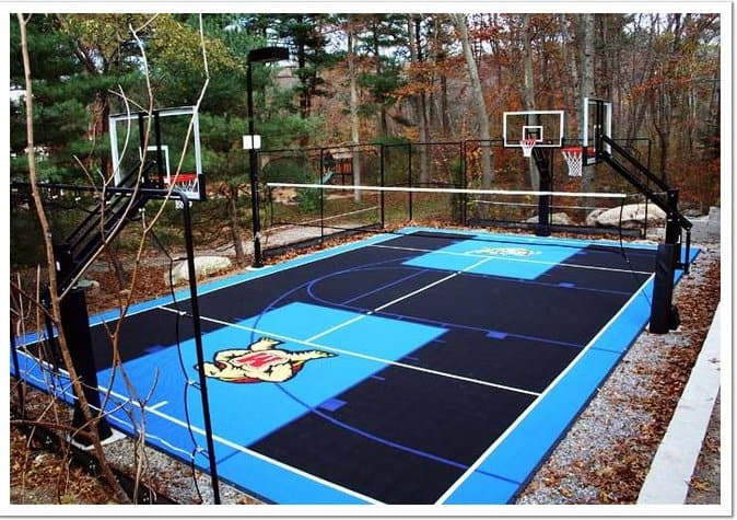 court-install