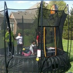 Vuly Trampolines Have Basketball Accessories