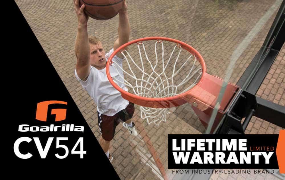 Goalrilla CV54 - Lifetime Warranty Graphic