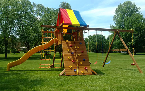 Rainbow Swingsets Deals On Swingsets In Cincinnati