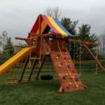 Recent Rainbow Playset Installations 10
