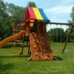 Recent Rainbow Playset Installations 3