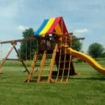 Recent Rainbow Playset Installations 4