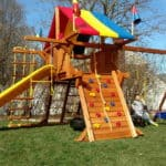 Recent Rainbow Playset Installations 7