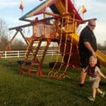 Recent Rainbow Playset Installations 8