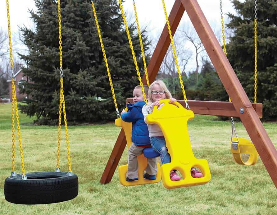 Swing for Wooden Swingset