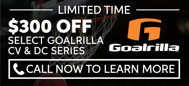 Goalrilla Hoop Coupon 2019 - Up to $300 off