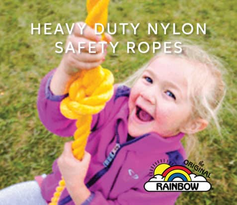 Heavy duty nylon safety ropes - Wooden Play Set