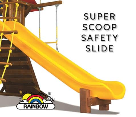 Super Scoop Safety Slide - Wooden Play Set