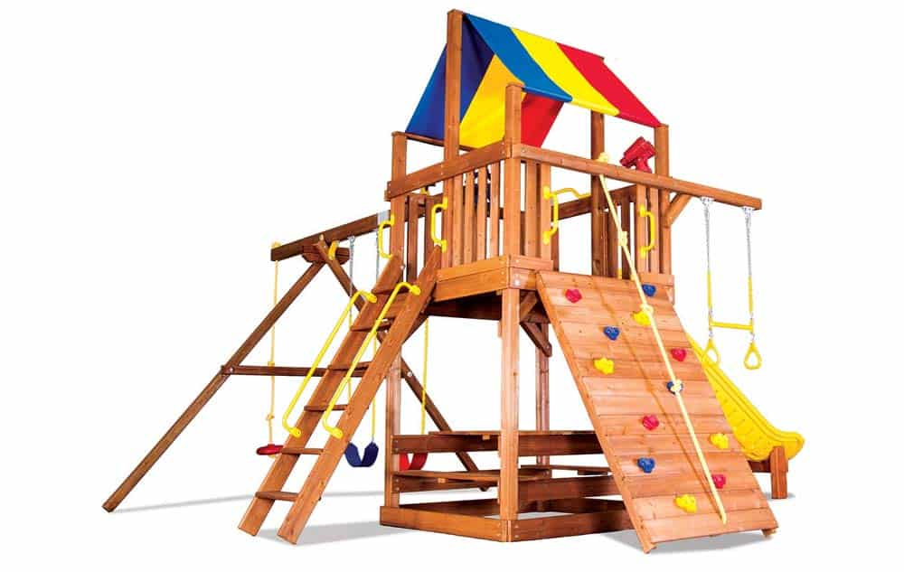 Rainbow Play Set - Carnival Clubhouse Pkg II Feature Model - 31b -1