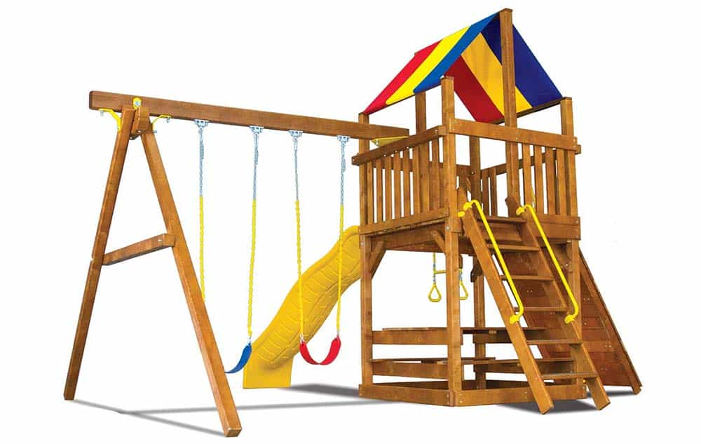 Rainbow Play sets - Fiesta Clubhouse 20c -1