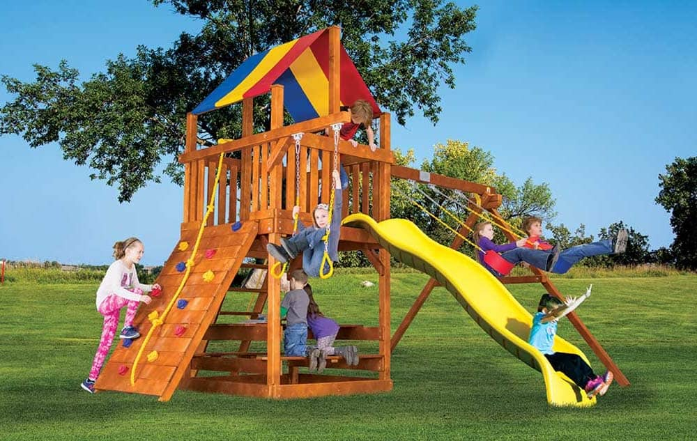Rainbow Play sets - Fiesta Clubhouse 20c -4