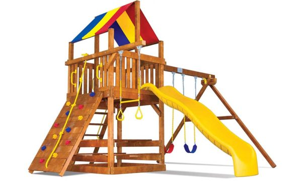 Rainbow Play sets - Fiesta Clubhouse 20c