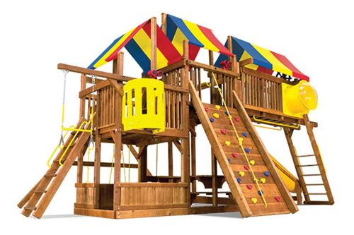 King Kong Clubhouse Series - Create your own Rainbow Playset