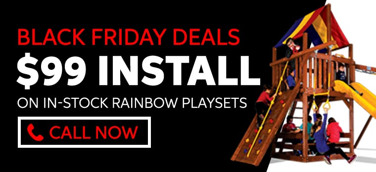 Playset Installation Deals - November 2019