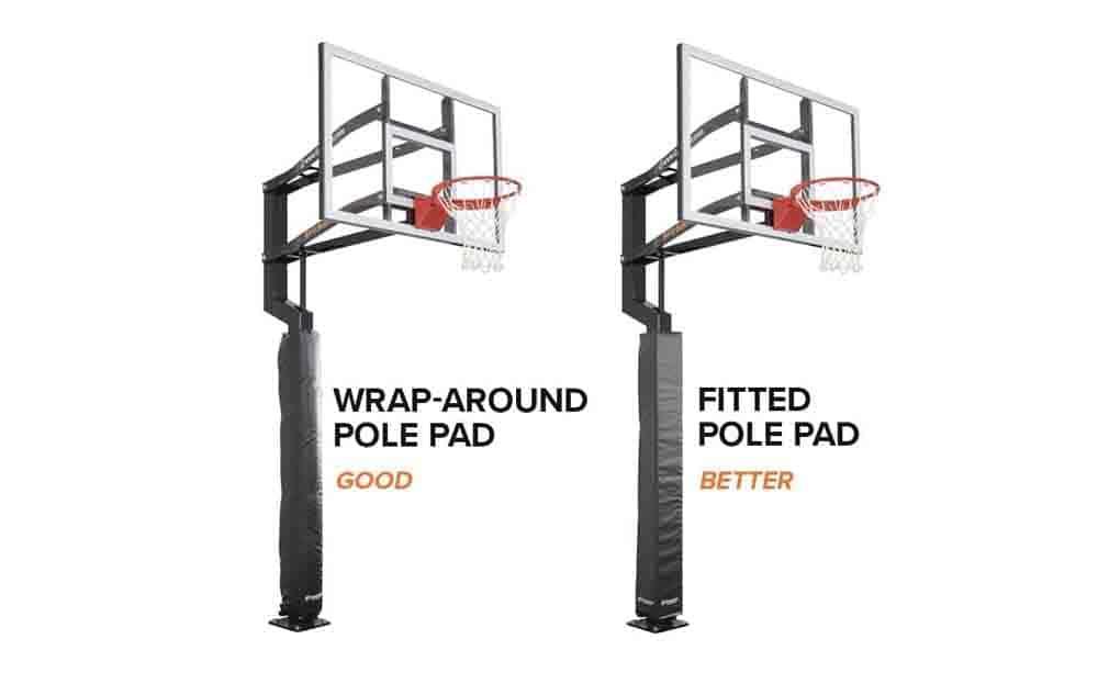 Goalsetter Custom Fit Pole Pad 2
