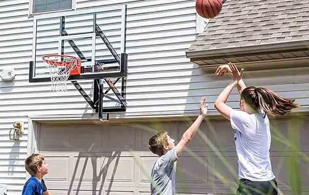 Goalsetter GS72 - 72 inch wall mount hoop 4