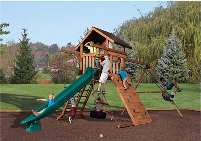 The Olympian Summit Playset or Swingset