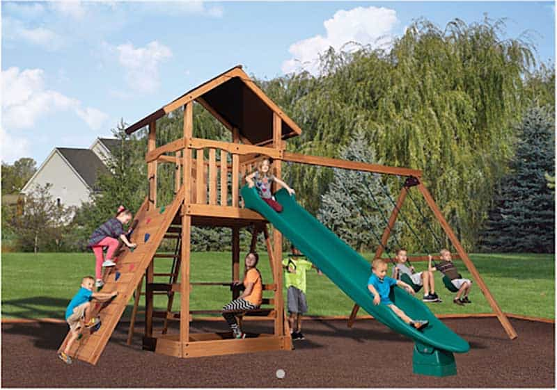 Rainbow Outlet Playset or Swingset