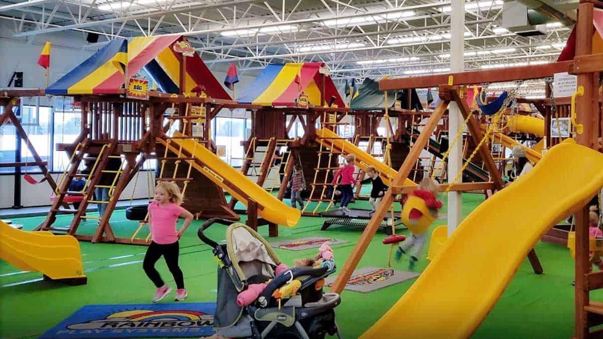 Rainbow Playset Showroom Cincinnati Ohio
