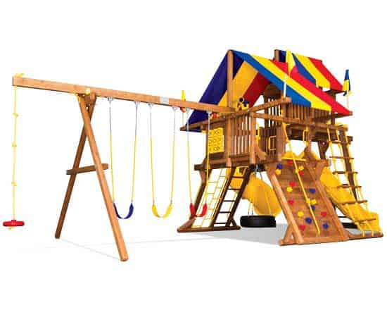 15J Sunshine Castle Pkg V with 270 Spiral Slide