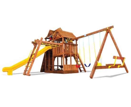 King Kong Clubhouse Pkg III Wooden Roofs 47H